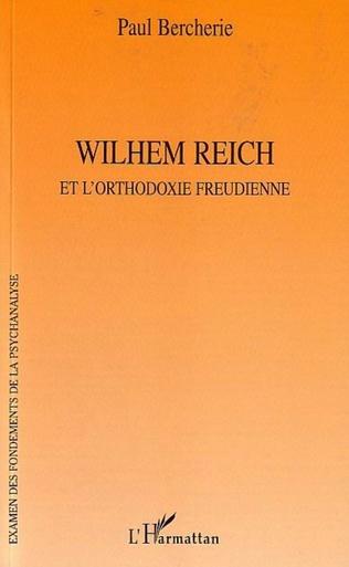 Couverture Wilhem Reich