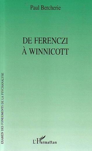 Couverture De Ferenczi à Winnicott