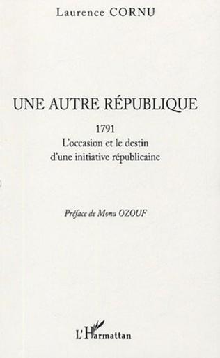 Couverture Une autre république