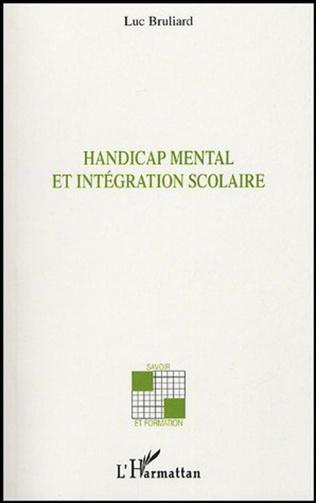 Couverture Handicap mental et intégration scolaire