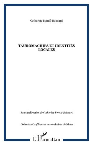 Couverture Tauromachies et identités locales