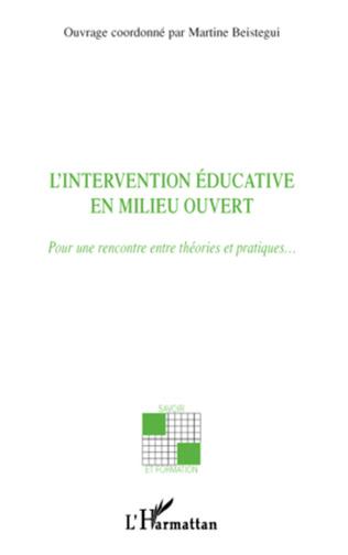 Couverture L'intervention éducative en milieu ouvert