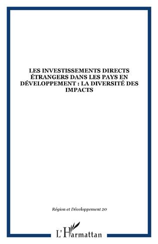 Couverture Les investissements directs étrangers dans les pays en développement : la diversité des impacts