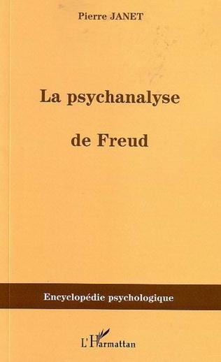 Couverture La psychanalyse de Freud