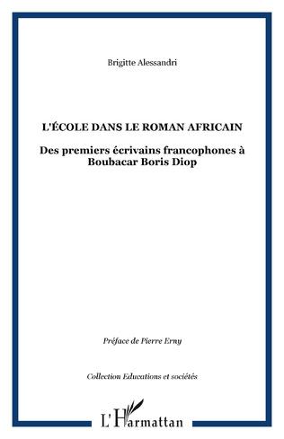 Couverture L'école dans le roman africain