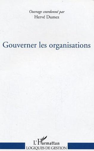 Couverture Gouverner les organisations