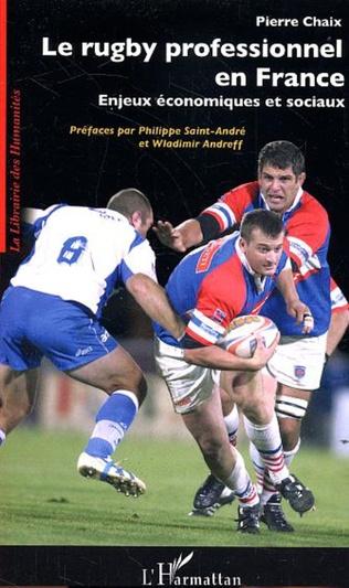 Couverture Le rugby professionnel en France
