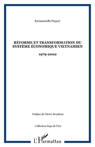 Couverture Réforme et transformation du système économique vietnamien