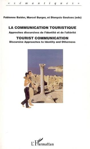 Couverture La communication touristique