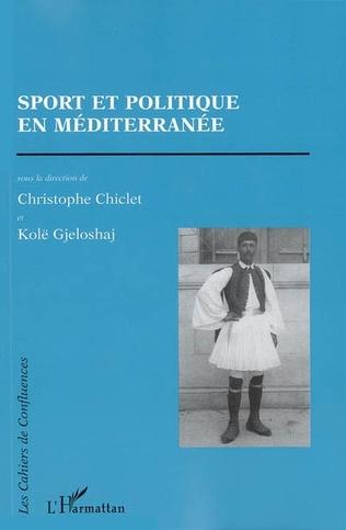 Couverture Sport et politique en Méditerranée