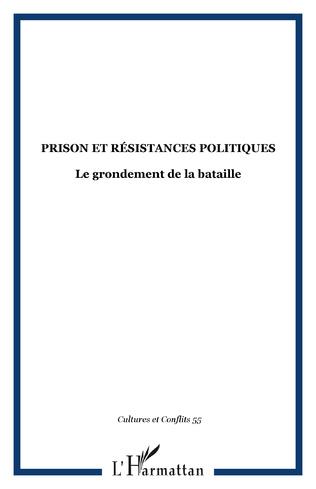 Couverture Prison et résistances politiques