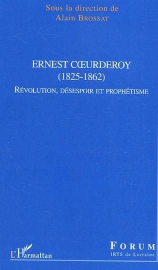 Couverture Ernest Coeurderoy