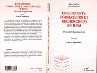 Couverture Enseignants, formateurs et recherche(s) en IUFM