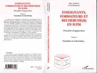 Couverture Enseignants, formateurs et recherche(s) en IUFM 2