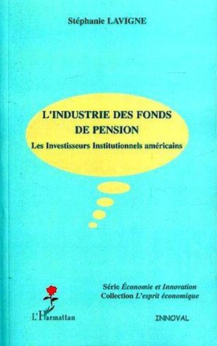 Couverture L'industrie des fonds de pension