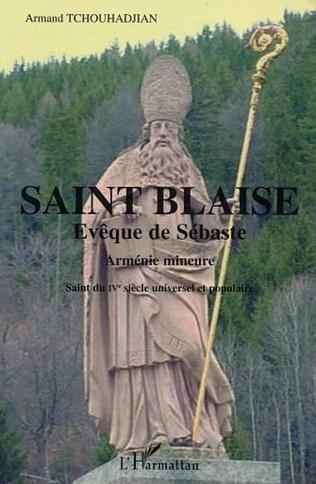 Couverture Saint Blaise Evêque de Sébaste