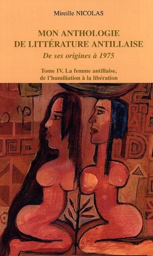 Couverture Mon anthologie de littérature antillaise