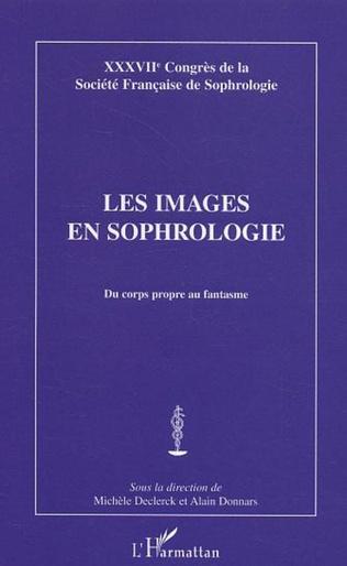 Couverture Les images en sophrologie