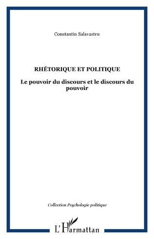 Couverture Rhétorique et politique
