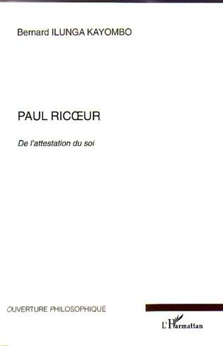 Couverture Paul Ricoeur