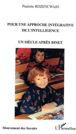 Couverture Pour une approche intégrative de l'intelligence