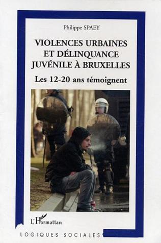Couverture Violences urbaines et délinquance juvénile à Bruxelles
