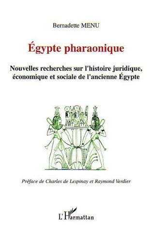 Couverture Egypte pharaonique