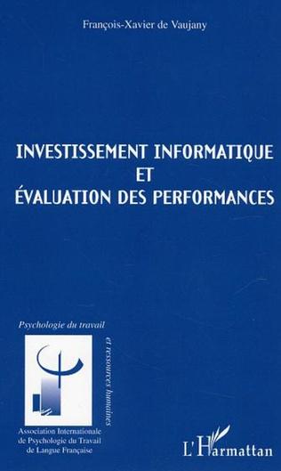 Couverture Investissements informatique et évaluation des performances