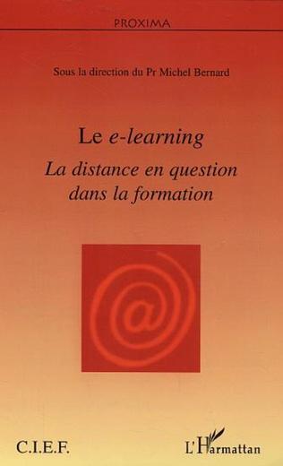 Couverture Le e-learning
