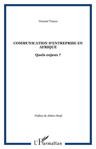 Couverture Communication d'entreprise en Afrique