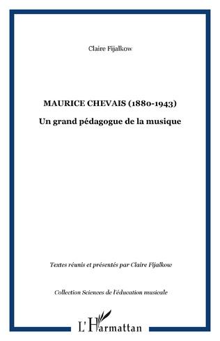 Couverture Maurice Chevais (1880-1943)