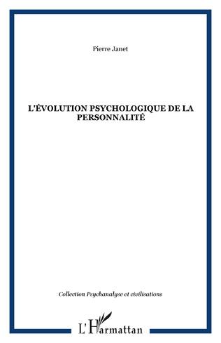 Couverture L'évolution psychologique de la personnalité