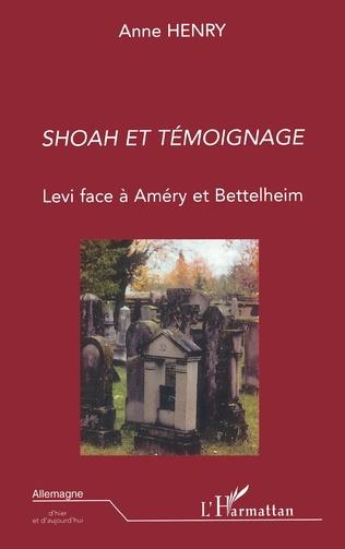 Couverture Shoah et témoignage