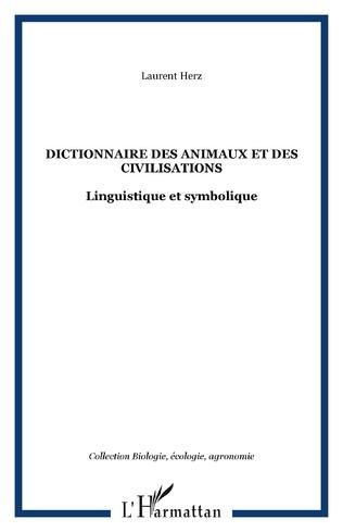 Couverture Dictionnaire des animaux et des civilisations