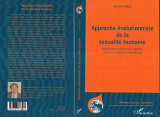 Couverture Approche évolutionniste de la sexualité humaine