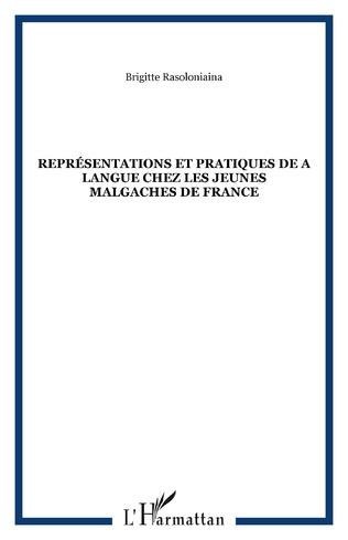 Couverture Représentations et pratiques de a langue chez les jeunes malgaches de France