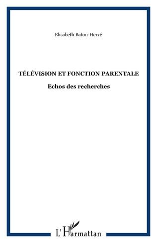 Couverture Télévision et fonction Parentale