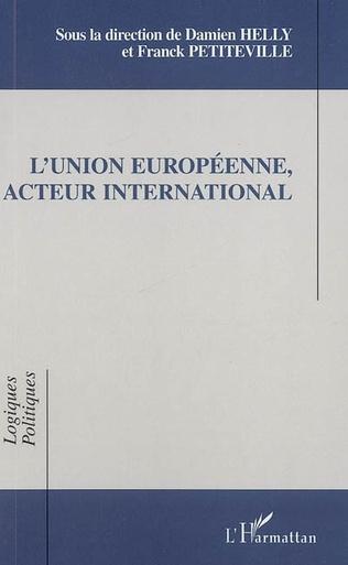 Couverture L'Union Européenne, acteur international