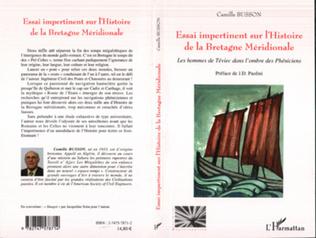 Couverture Essai impertinent sur l'Histoire de la Bretagne Méridionale