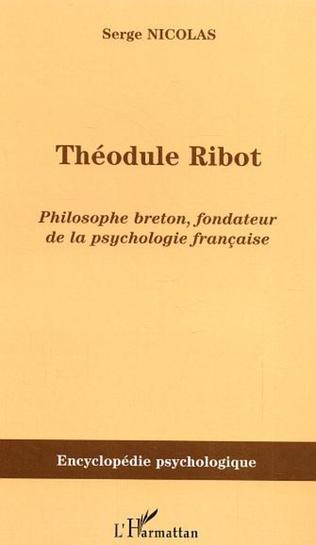 Couverture Théodule Ribot