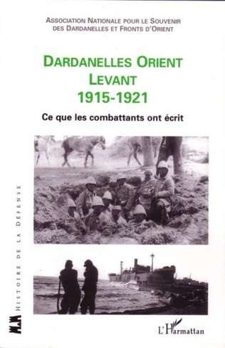 Couverture Dardanelles orient Levant 1915-1921