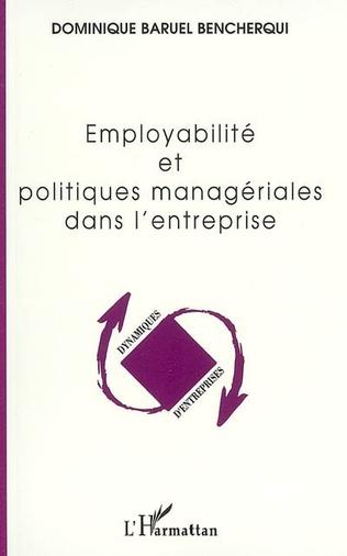 Couverture Employabilité et politiques managériales dans l'entreprise