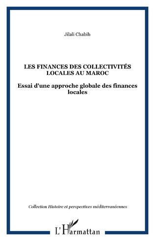Couverture Les finances des collectivités locales au Maroc