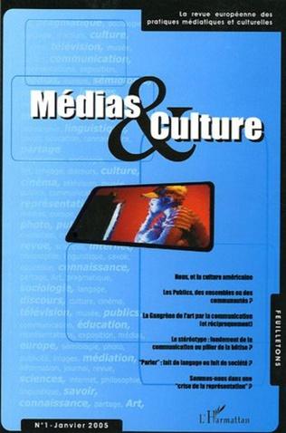 Couverture Médias et culture 1