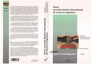 Couverture Genre, nouvelle division internationale du travail et migrations