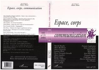 Couverture Espace, corps, communication
