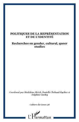 Couverture Politiques de la représentation et de l'identité