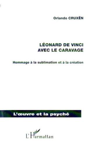 Couverture Léonard de Vinci avec le Caravage