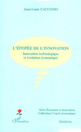 Couverture L'épopée de l'innovation
