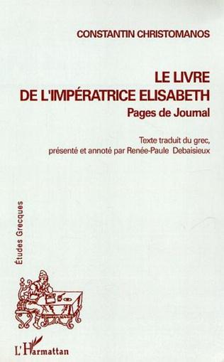 Couverture Le Livre de l'Impératrice Elisabeth